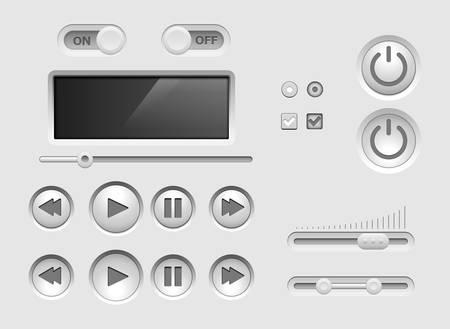 kit design: UI kit.