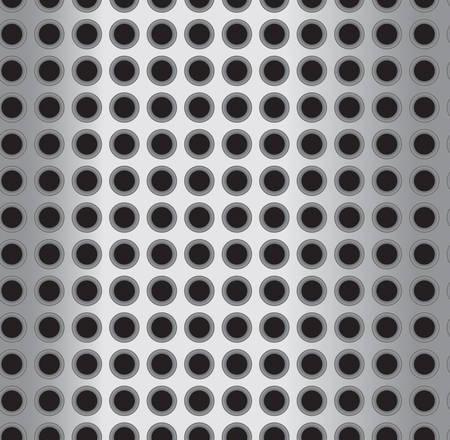 Un patrón de metal sin fisuras repetir. Foto de archivo - 41694752