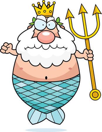 El misterio del Polo Norte. - Página 2 42732471-una-caricatura-rey-neptuno-con-una-expresi%C3%B3n-enojada-