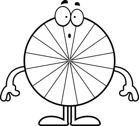 peppermint: A cartoon illustration of a peppermint looking surprised.