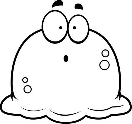 見てみるとビックリ、鼻くその漫画イラスト。