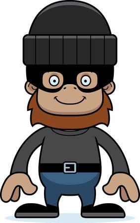 웃 고 만화 도둑 sasquatch입니다.