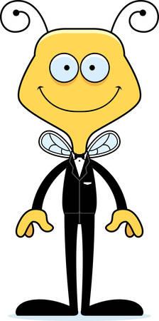 웃 고 만화 신랑 꿀벌입니다.
