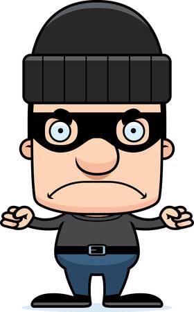 만화 도둑 남자 화가 찾고. 일러스트