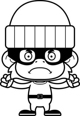 화가 찾고 만화 도둑 원숭이입니다.