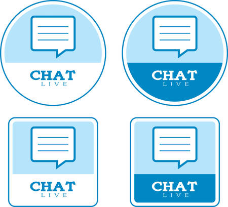 word balloon: Icon designs and illustrations with a chat theme.