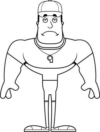 Un personaje de dibujos animados mirando a los ojos Foto de archivo - 102097690