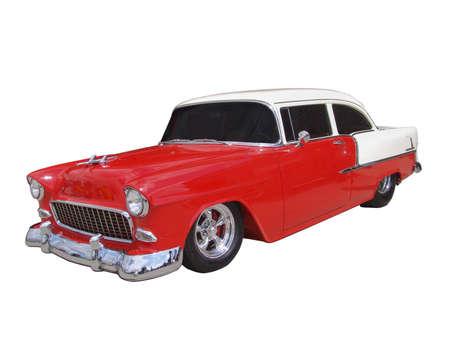 custom car: Vintage 50 Stock Photo