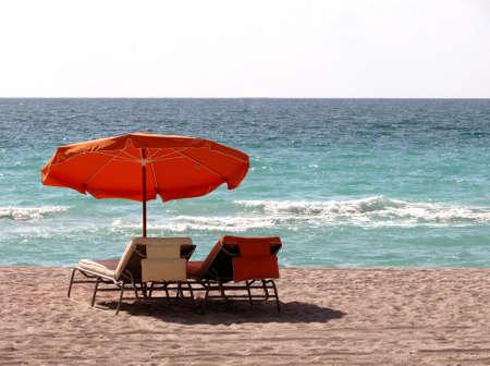 un d�a en la playa