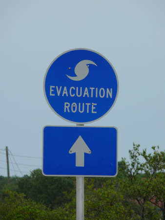 hurican evacuation route Stock Photo