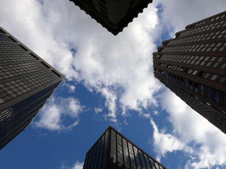 skyscraper X Stock Photo
