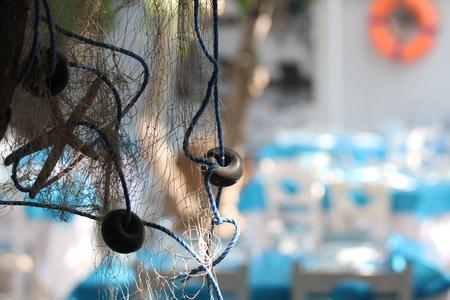fishnet: fishnet decoration