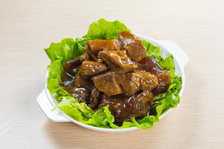 gestoofd rundvlees