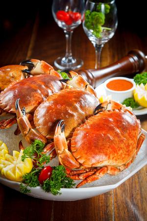 crawfish: boiled crab