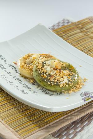 A photo of gluten rice cake
