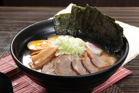 A photo of ramen Stock Photo