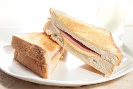 deli sandwich: A photo of sandwich Stock Photo