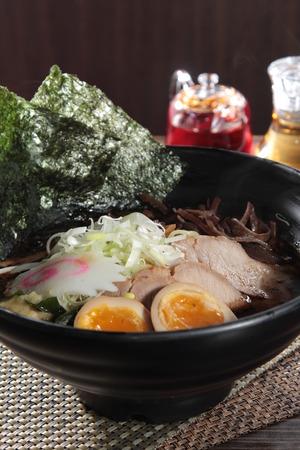 A cuisine photo of ramen Stock Photo