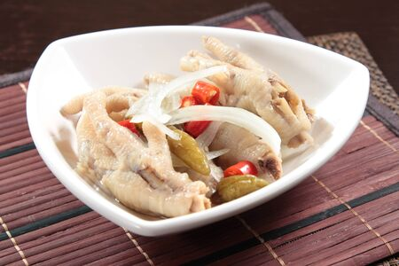 A cuisine photo of chicken legs Stock Photo