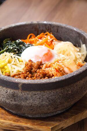 A cuisine photo of bibimbap Stock Photo
