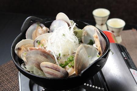 A cuisine photo of clam casserole Stock Photo