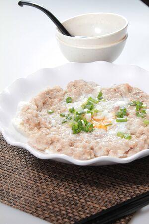 A cuisine photo of steamed minced pork