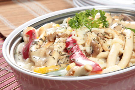 A cuisine photo of baked dish