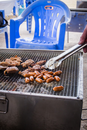 A cuisine photo of barbecued
