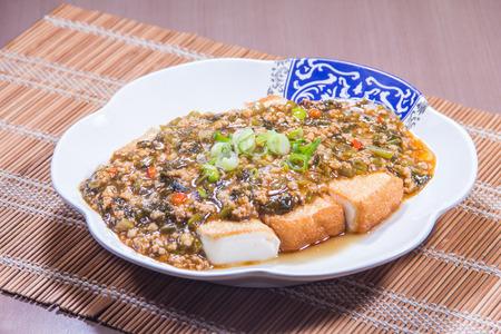 豆腐の料理写真