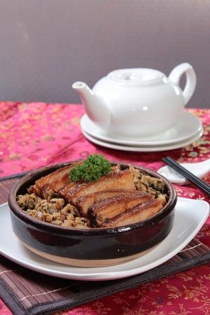 A cuisine photo of braised chicken