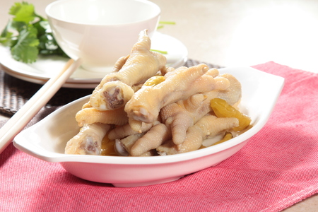 A cuisine photo of braised chicken