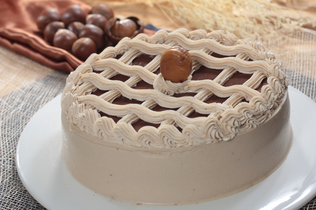 A cuisine photo of cake