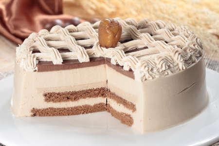 sprinkle: A cuisine photo of cake