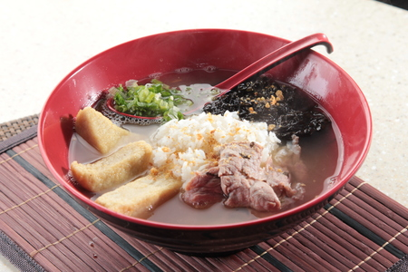 A cuisine photo of congee
