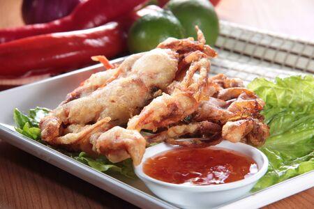 crab legs: A cuisine photo of crab