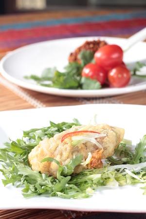 batters: A cuisine photo of deep fried fish