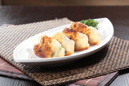 a cuisine photo of dumpling
