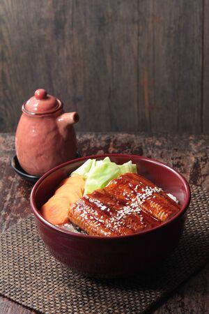 a cuisine photo of eel cuisine Stock Photo