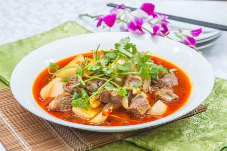 a cuisine photo of fried beef