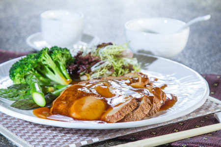 champignon: a cuisine photo of mushroom cuisine