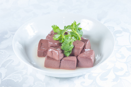 a cuisine photo of offal cuisine Foto de archivo
