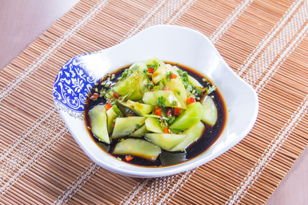 pickling: a cuisine photo of pickled vegetable Stock Photo