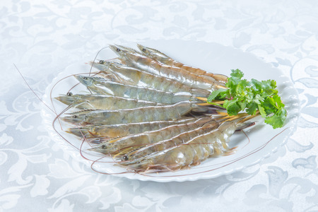 a cuisine photo of fried shrimp