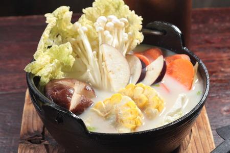 a cuisine photo of soup Stock Photo