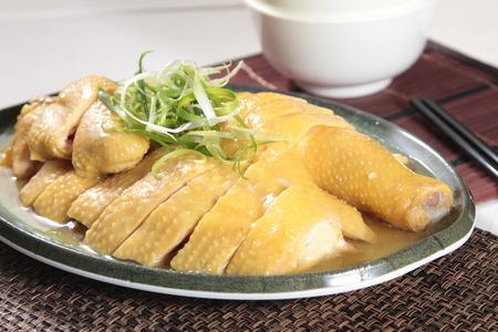 찐 닭 요리 사진