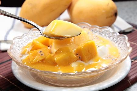 a cuisine photo of sweet soup