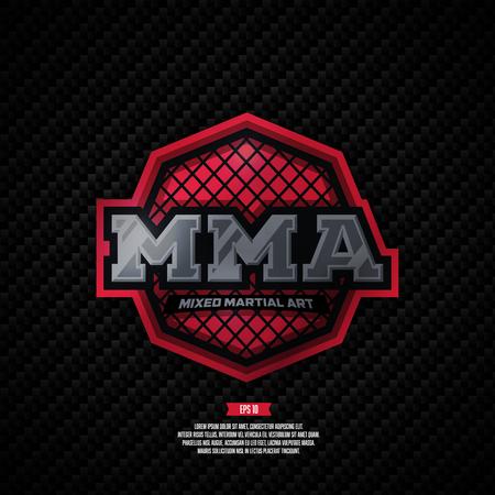 MMA. Modern professional mixed martial arts template design.