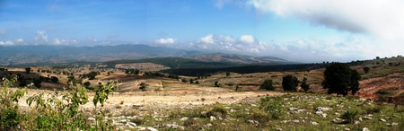 Panoramic view of Mexican countryside Stok Fotoğraf - 13918745