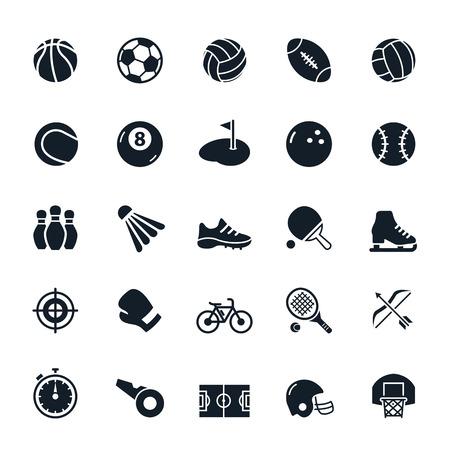 Sport icons Standard-Bild - 37919275