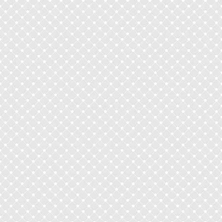 White Polka Dot Seamless Pattern Vector Background
